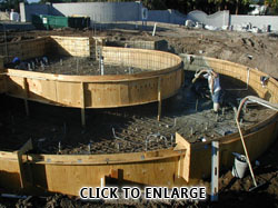 Water fountain commercial and residential construction