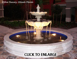 Water feature commercial and residential supply company